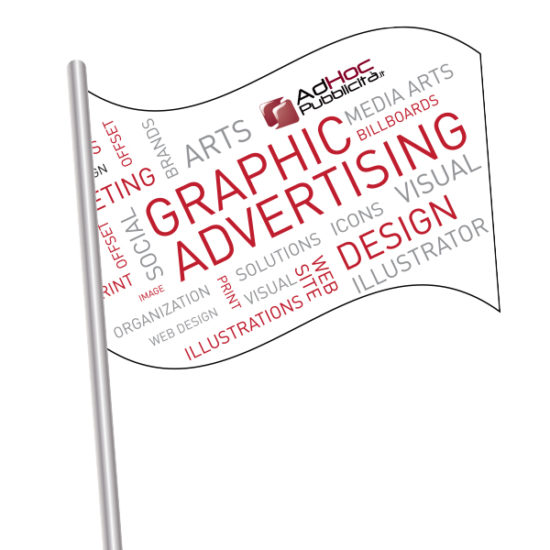 Bandiera rettangolare 150x100 cm - Bandiere Pubblicitarie Personalizzate